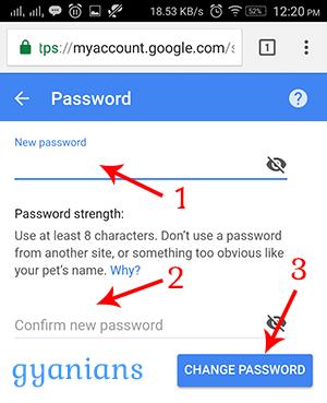 जीमेल पासवर्ड कैसे चेंज करे हिंदी में जाने