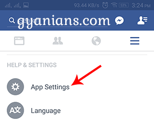 How to Disable Facebook Autoplay Videos and Audio on Android and PC step 2