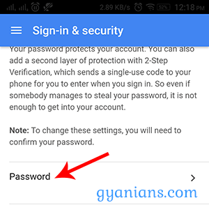 How to change GMAIL password (gmail ka password kaise change kare)