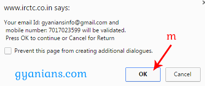 IRCTC SIGN UP NEW ACCOUNT 2