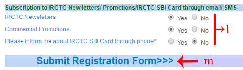 IRCTC SIGN UP NEW ACCOUNT