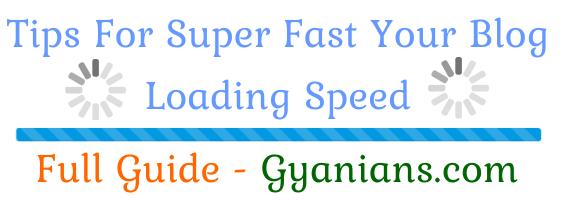 WordPress Blog Aur Website Ki Page Loading Speed Kaise Badhaye