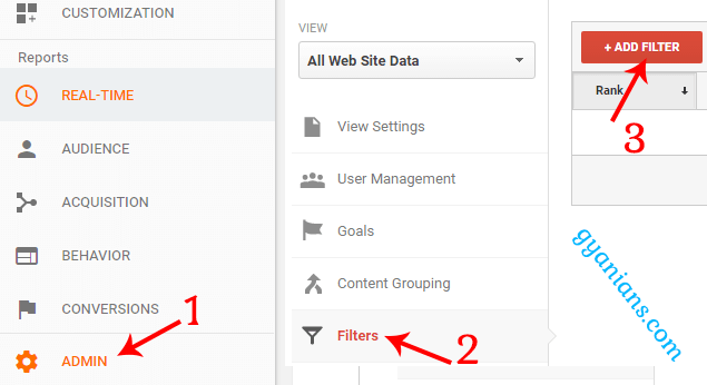 How to exclude internal traffic from Google Analytics