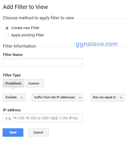 ways to exclude your own visits from Google Analytics