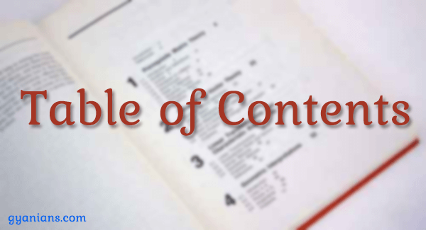 WordPress Posts Me Table of Contents Kaise Add Kare Gyanians