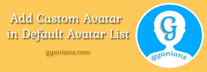 add custom avatar in wordpress in hindi