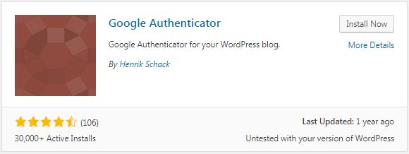 google authenticator plugin