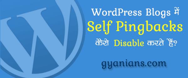 What is Self Pingbacks in Hindi