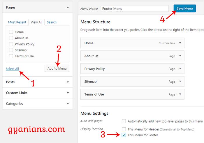 add item in menu bar