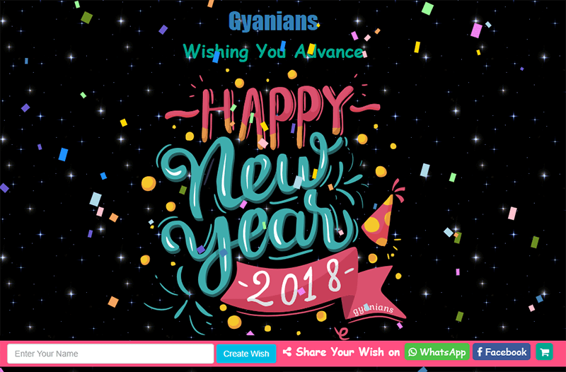 gyanians festival wishes creator