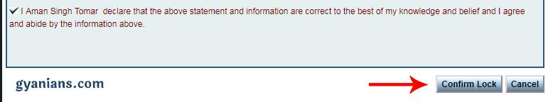 nielit profile confirm lock