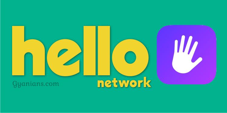 Hello Network Social Media App