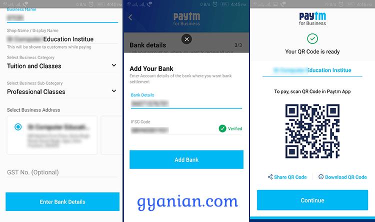 Paytm business app installation