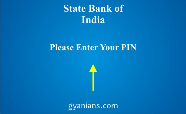 change registered mobile number using ATM step 2