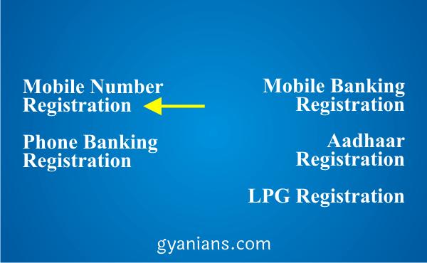 change registered mobile number using ATM step 3
