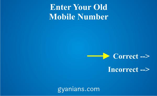change registered mobile number using ATM step 5