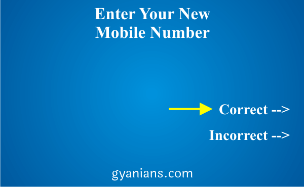 change registered mobile number using ATM step 6