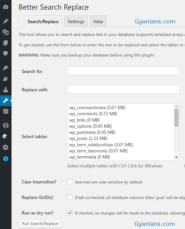 better search replace plugin