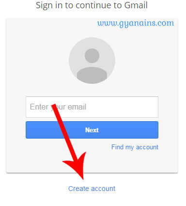 gmail sign up