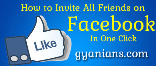 Facebook Page Par All Friends Ko One Click Me Kaise Invite Kare