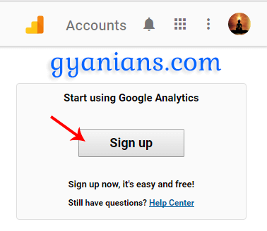 Google Analytics Me Account Kaise Banaye Blog ke liye