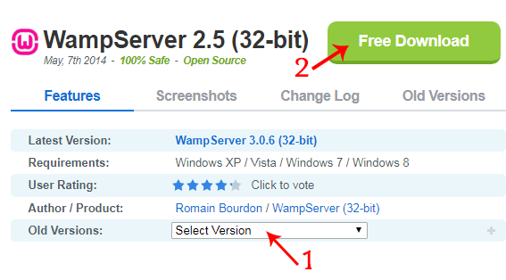free download wamp server for windows 7 32 bit