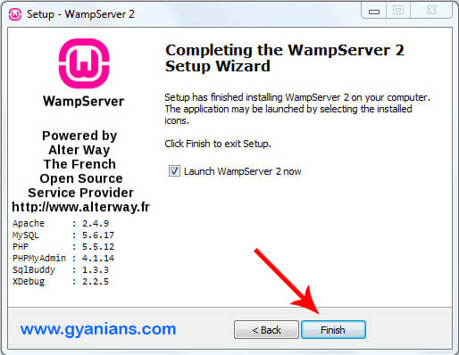 WampServer Install Step - 7