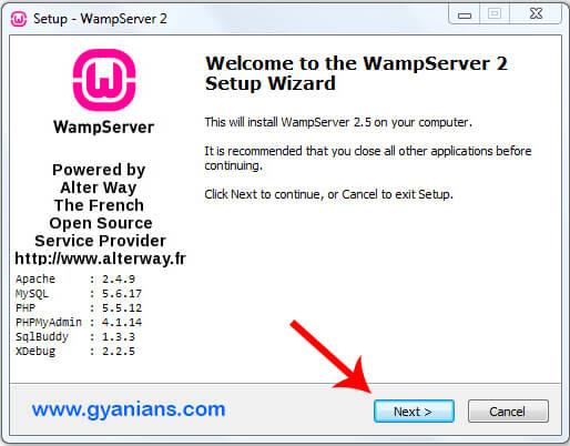 WampServer Install Step - 1