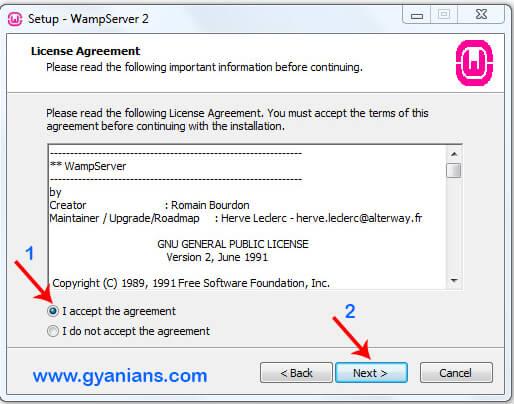 WampServer Install Step - 2