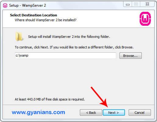 WampServer Install Step - 3