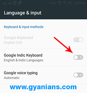 google indic keyboard hindi