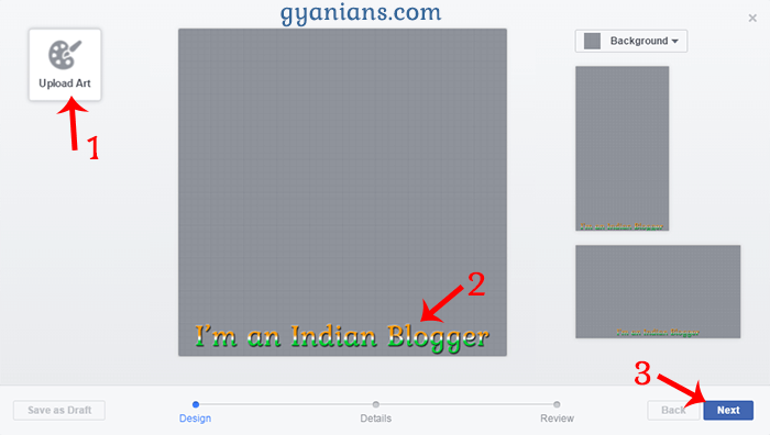 Facebook Profile Picture Frame Work Area