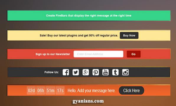 Hello Bar Sticky Notification WordPress Blog Me Kaise Add Kare in Hindi