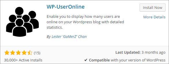 WP-Online User Plugin