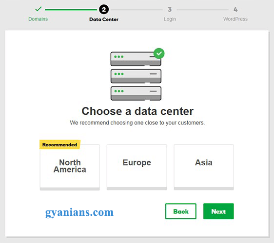 choose a data center