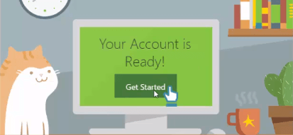 your account is ready on godaddy