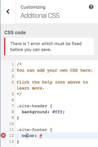 codemirror-custom-css-showing-error
