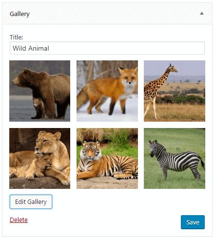 gallery widget
