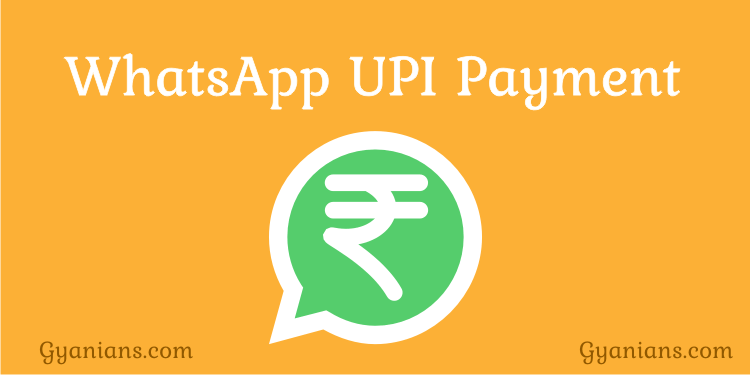 WhatsApp UPI Payments Feature in hindi