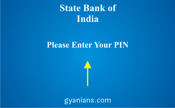 change registered mobile number using ATM step 2