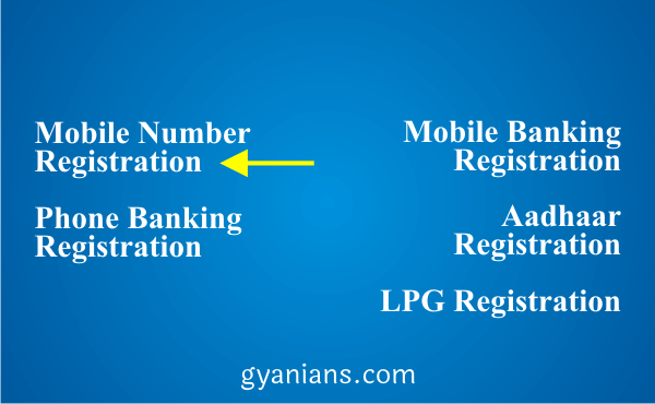change registered mobile number using ATM step 3