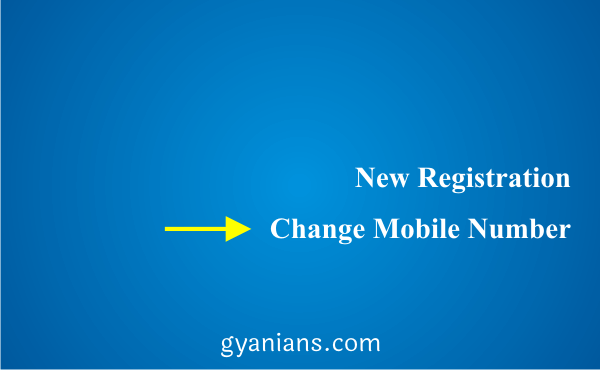 change registered mobile number using ATM step 4