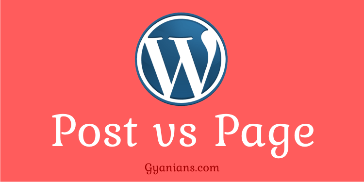 Differences Between Posts and Pages in WordPress